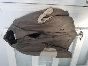 3 men's winter jackets and 1 vest