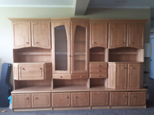 Family Room Cabinet set for sale