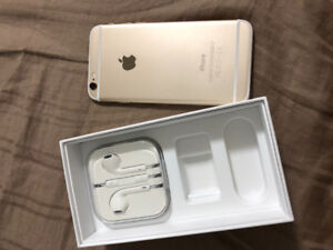 Unlocked iPhone 6 White Gold For Sale