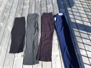 Womens dress pants mostly size 6