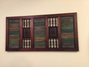 Wall Art, Wooden from Bombay Store
