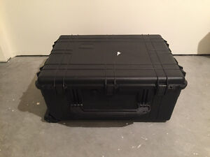 Plastic tool storage case
