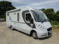 Adria Vision i707 SL A Class Luxury Motorhome, Large Garage and Twin Single Beds