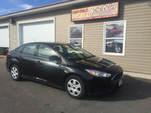 2015 Ford Focus S Sedan $94.91 Bi weekly OAC only 18000kms