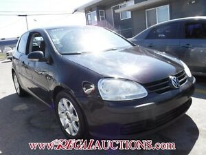 2007 VOLKSWAGEN RABBIT  2D HATCHBACK