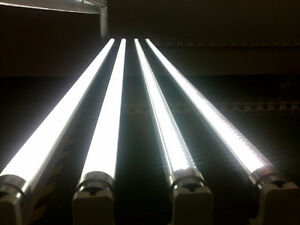 25PC 4 ft 8 FOOT LED T8 Bulb Tube Light Fluorescent REPLACEMENT