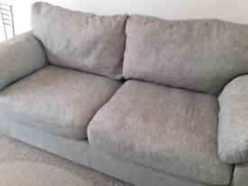Harveys 3 seater grey sofa