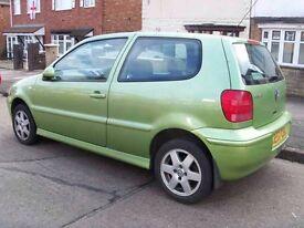For sale cheap car VW polo 1.4 TDI cheap to run cheap insurance no spares repair
