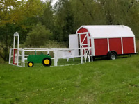 Mobile petting zoo for birthday parties and other events
