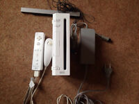 Wii console for sale.