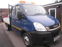 Iveco Daily doublecab alloy dropside tipper