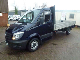 Mercedes-Benz Sprinter 2.1TD 313CDI LWB 2013 2014 model dropside pickup