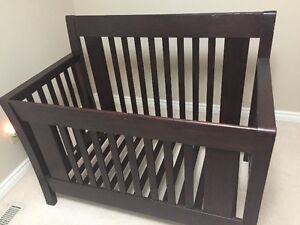 Baby Crib - Emilia Forever Cribs - Mocacchino - Peterborough