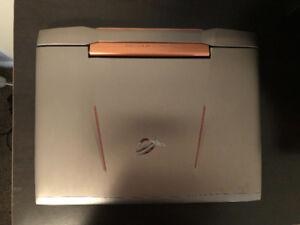 Asus g752 ROG laptop