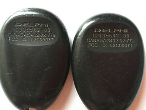 Pair of Chevy venture remotes Kitchener / Waterloo Kitchener Area image 2
