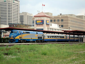 VIA Rail Gift Certificate - Value $100 Selling for $80