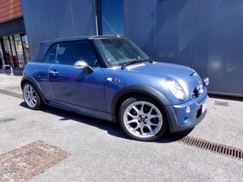 Mini Cooper S Cabriolet Convertible In Sheffield South Yorkshire