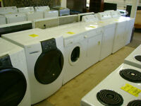 Washers and dryers. 90 day warranty. $149 and up.
