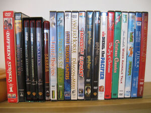 Assortment of DVDs Prince George British Columbia image 1