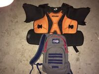 Evs tekvest and redbull hydration pack