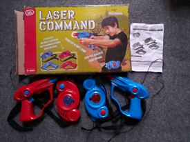 Laser command, shooting game