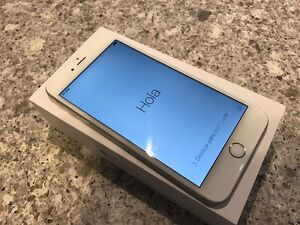 iPhone 6 Plus 64GB -grey with cases