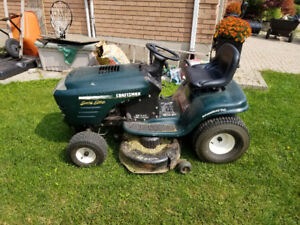 Craftsman Special Edition lawn tractor 19.5hp Turbo cooled