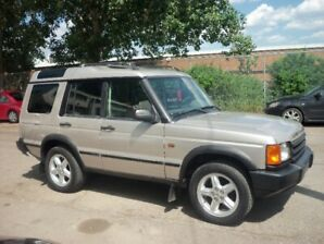 2001 Landrover Discovery Series 11 Leather Sunroofs 95000 kms