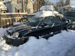 2004 Hyundai Santa Fe GL SUV, Crossover TRADE FOR SNOW BLOWER