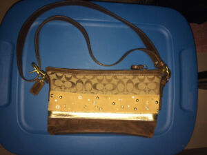 Brand name purses - COACH- FOSSIL-  Like new condition