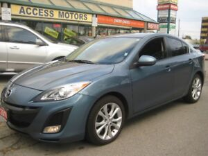 2011 Mazda Mazda3, GT, Leather, Sunroof, 83k, Like New