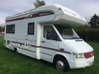 Compass Commodore Mercedes 312d 4 Berth Motorhome MANUAL 1998/2