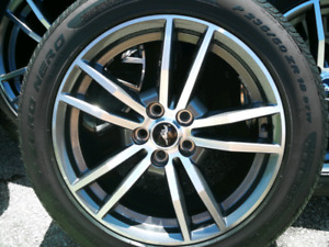 2015 Mustang Gt  Rims and Tires