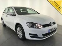 2016 VOLKSWAGEN GOLF S TDI 110 DIESEL FREE VEHICLE TAX 1 OWNER SERVICE HISTORY