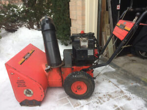 Snowblower       Older but functions well.  $110 firm