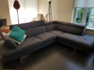 Sectional Couch - 2 pieces