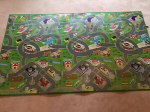 Kids Toy Mat for Toy cars by Smart Mat