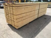 *New* Timber/ Wooden Scaffold Boards - Banded/ Unbanded - Joists/ Decking/ Diy etc 36mmx225mmx3.9m