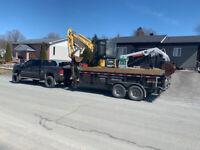 Excavation drainage démolition