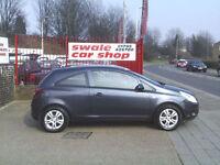 2010 10 Reg Vauxhall Corsa 1.3CDTi 16v 75ps a/c ecoFLEX Energy NEW MOT