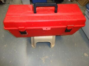 Large red tool box