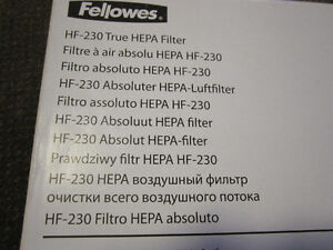 Fellowes CF-230 Carbon Filter for the AP-230PH Air Purifier Kitchener / Waterloo Kitchener Area image 7
