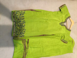 Punjabi shalwar suit. Worn once.