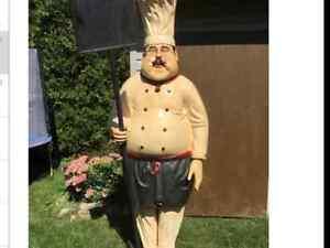 Giant Chef Statue