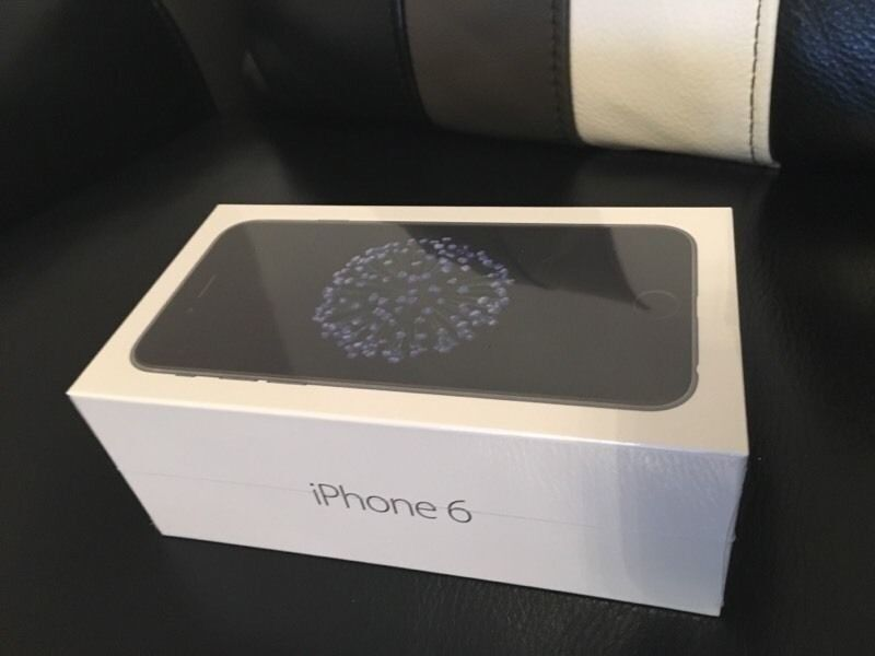 IPHONE 6 SPACE GREY THREE 3 NETWORK BRAND NEW SEALED 12 MONTHS WARRANTY