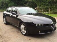 Alfa Romeo 159 jtdm 2.4 auto diesel spotless
