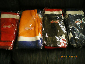 collect or use budweiser hocky scarfs