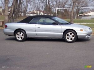 2000 Chrysler Sebring  Convertible like new 4.959 OBO