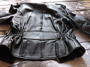 Manteau de cuir cxc