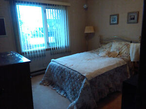 Large furnished room in three bedroom house